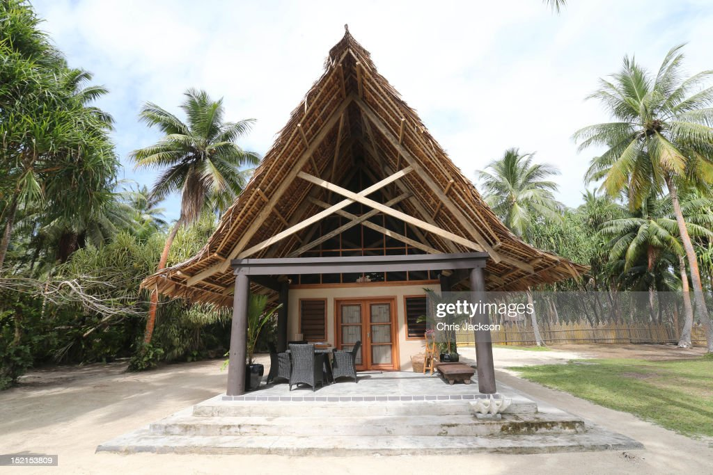 The lodge where Catherine, Duchess of Cambridge and Prince William, Duke of Cambridge are to spend the night on the island of Tuvanipupu on their Diamond Jubilee tour of the Far East on September 17, 2012 in Honiara, Guadalcanal Island. Prince William, Duke of Cambridge and Catherine, Duchess of Cambridge are on a Diamond Jubilee tour representing the Queen taking in Singapore, Malaysia, the Solomon Islands and Tuvalu.