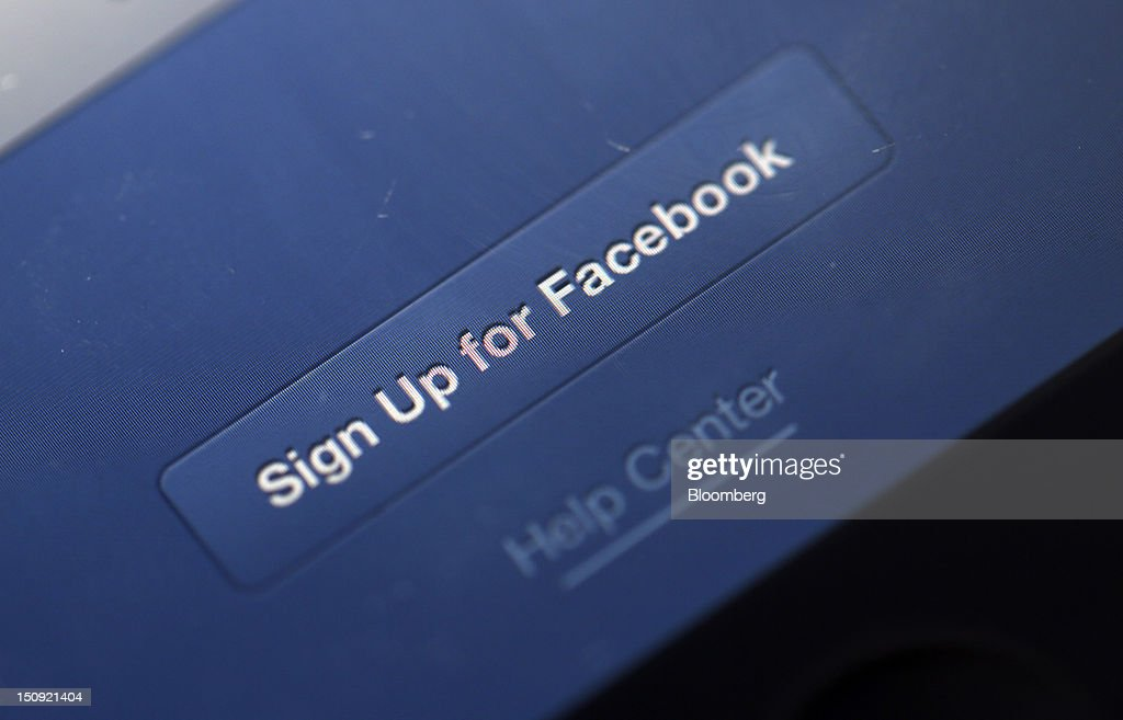 The login page for the Facebook Inc. social media site, is seen on an Apple Inc. iPhone 4 smartphone in this arranged photograph in London, U.K., on Wednesday, Aug. 29, 2012. Facebook Inc. is teaming up with architect Frank Gehry to expand its headquarters in Menlo Park, California with the project set to begin in spring 2013. Photographer: Chris Ratcliffe/Bloomberg via Getty Images