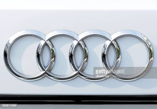 audi symbol stock photos and pictures getty images