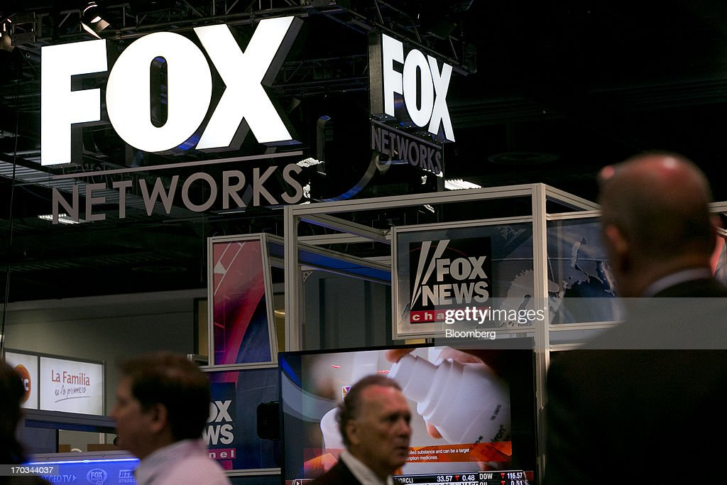 The logo of News Corp.'s Fox Networks Group Inc. is seen on the exhibit floor during the National Cable and Telecommunications Association (NCTA) Cable Show in Washington, D.C., U.S., on Tuesday, June 11, 2013. The Cable Show is expected to bring in more than 10,000 attendees with 286 companies on the exhibit floor. Photographer: Andrew Harrer/Bloomberg via Getty Images