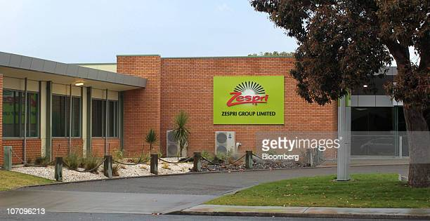 The logo of Zespri Group Ltd is displayed at the company's headquarters in Tauranga New Zealand on Monday Nov 23 2010 A bacterial vine disease was...