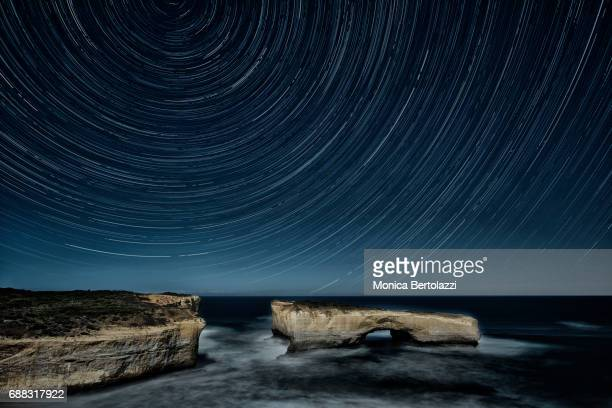 The London Bridge Star trail