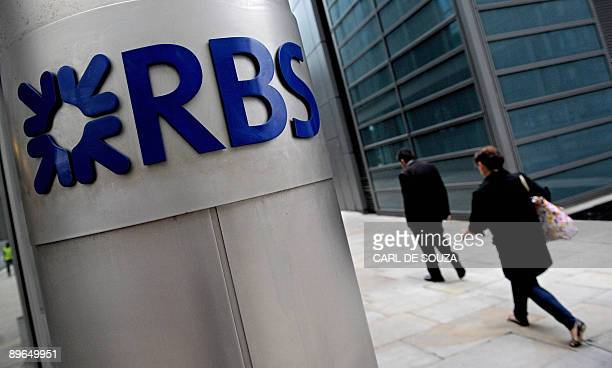 The London headquarters of the Royal Bank of Scotland is pictured on August 7 2009 Staterescued Royal Bank of Scotland on Friday reported a fivefold...