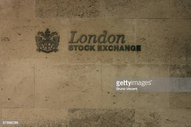 The London Stock Exchange building is shown May 12 2006 in London The FTSE 100 Index closed deep in the red today losing 1299 pointsthe worst session...