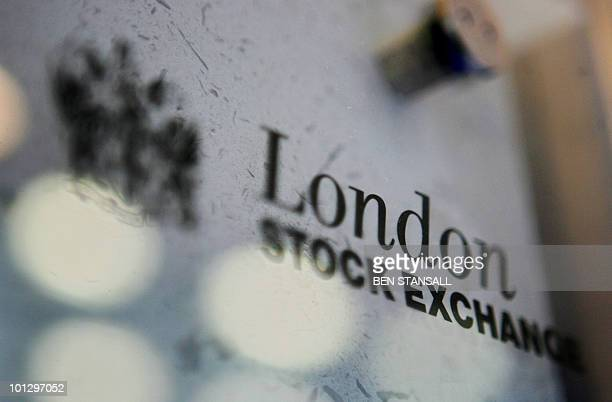 The London Stock Exchange logo is pictured in London 17 March 2006 The US Nasdaq stock exchange Monday 20 November 2006 launched an improved takeover...