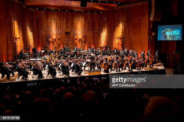 The London Symphony Orchestra's Music Director Simon Rattle conducts the LSO playing a programme by Helen Grime Thomas Ades Harrison Birtwistle...