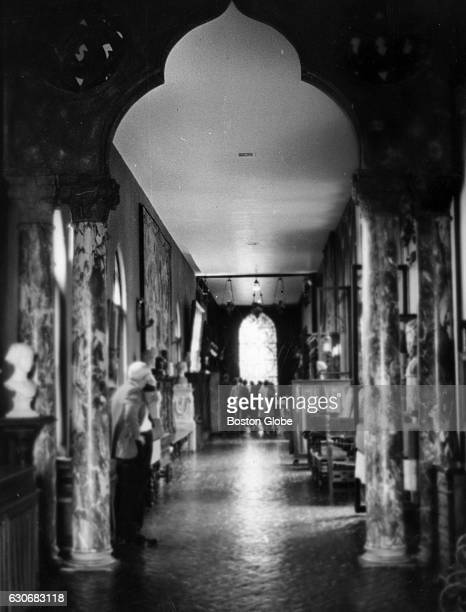 The Long Gallery at the Isabella Stewart Gardner Museum in Boston on Nov 14 1966