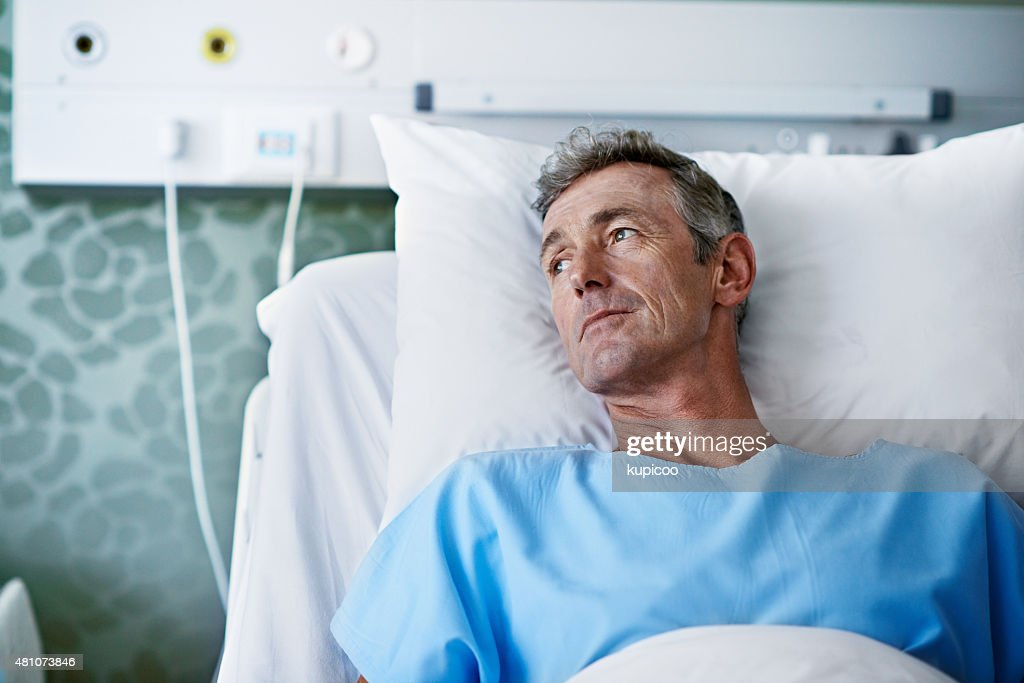 The long hard road to recovery : Stockfoto