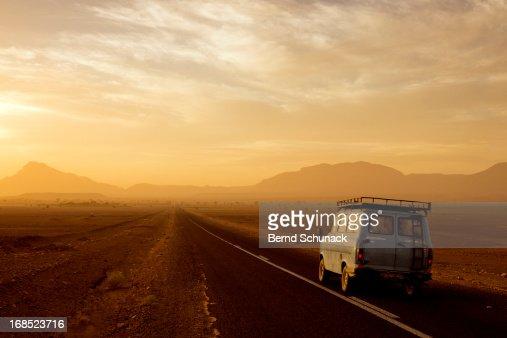 The long journey through the desert