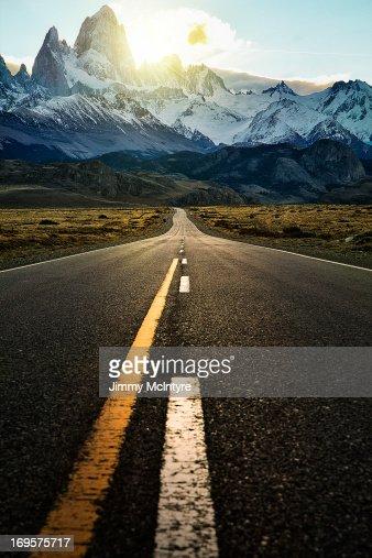 The long road to fitzroy Mountain - Ruta 40