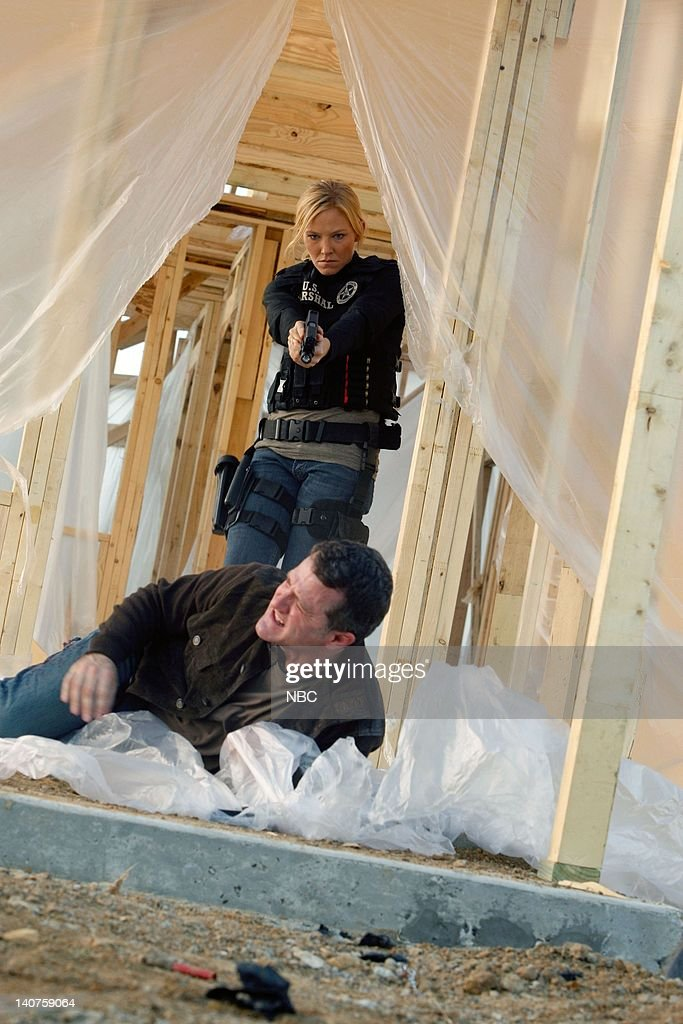 CHASE 'The Longest Night' Episode 109 Pictured Kelli Giddish as Annie Frost Jim TrueFrost as Curt Seaver Photo by Vivian Zink/NBC/NBCU Photo Bank