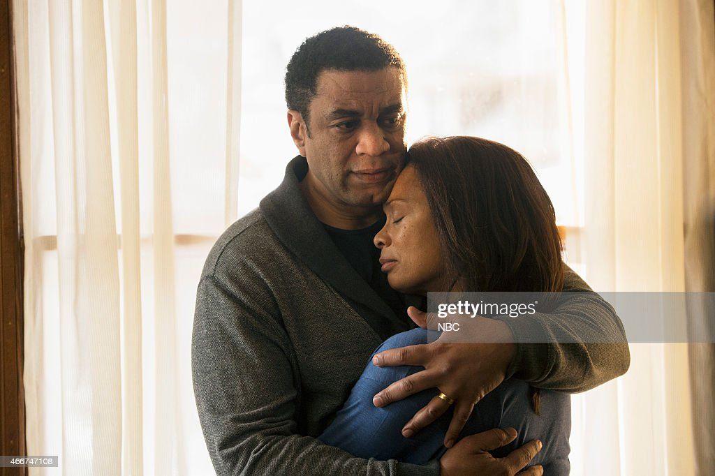 THE BLACKLIST 'The Longevity Initiative' Episode 217 Pictured Harry Lennix as Harold Cooper Valarie Pettiford as Charlene Cooper