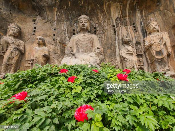 The Longmen Grottoes.