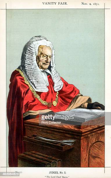 'The Lord Chief Baron' 1871 A caricature of Sir Fitzroy Edward Kelly Lord Chief Baron of the Exchequer Kelly was appointed solicitorgeneral in 1845...