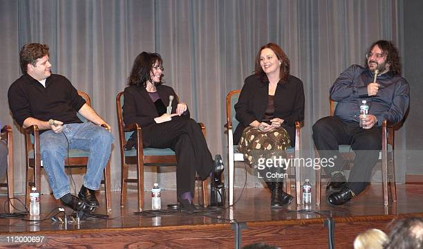 'The Lord of the Rings' Q A session Sean Astin costar Fran Walsh coproducer/cowriter Philippa Boyens cowriter and Peter Jackson coproducer cowriter...