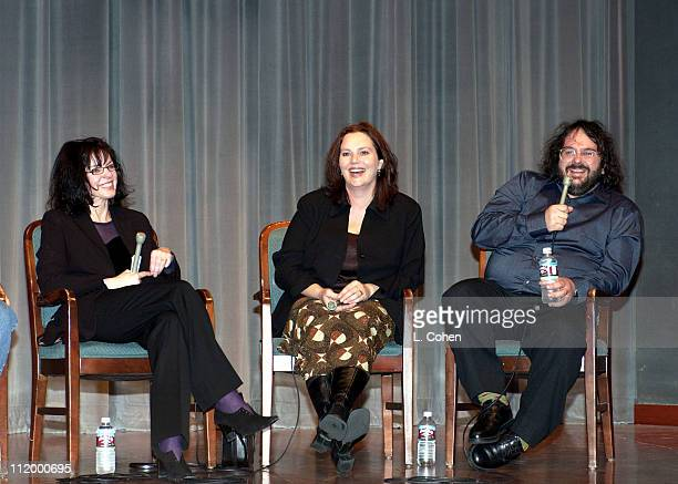 'The Lord of the Rings'Q A session with Fran Walsh coproducer/cowriter Philippa Boyens cowriter and Peter Jackson coproducer cowriter and codirector
