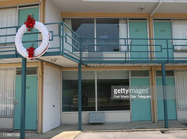 The Lorraine Motel in Memphis Tennessee Dr Martin Luther King Jr was shot outside of rooms 306 and 307 on April 4 1968 The motel is now part of the...