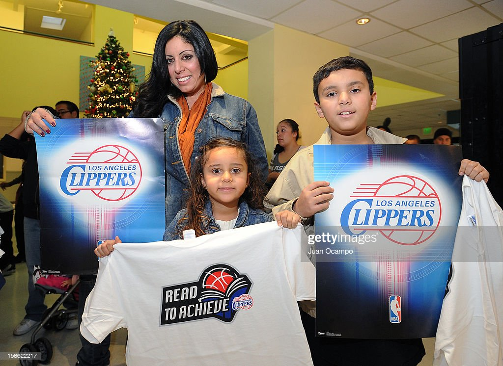 The Los Angeles Clippers' 'Season of Giving' Adopt a Family event on December 20, 2012 at Salvation Army Seimon Family Youth & Community Center in Los Angeles, California.