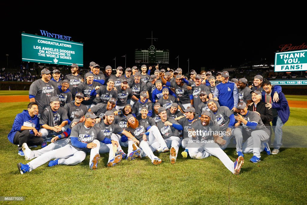 Dodgers Win the Pennant!