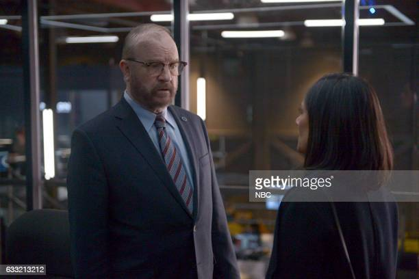 TIMELESS 'The Lost Generation' Episode 113 Pictured Jim Beaver as Agent Neville Sakina Jaffrey as Denise Christopher