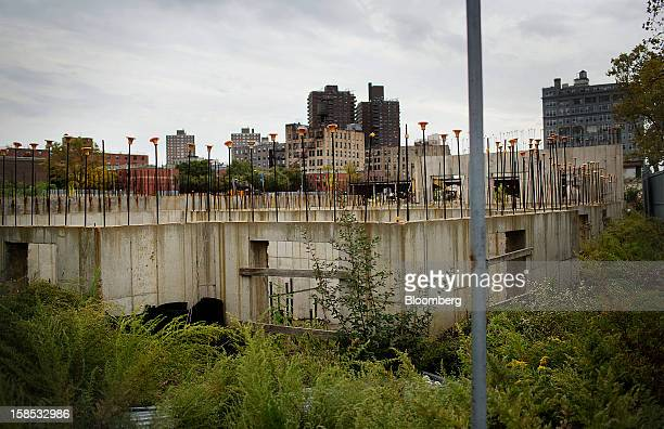 The lot at 421 Kent Ave stands in the Brooklyn borough of New York US on Monday Oct 15 2012 Xinyuan Real Estate Co's acquisition of a twoacre parcel...