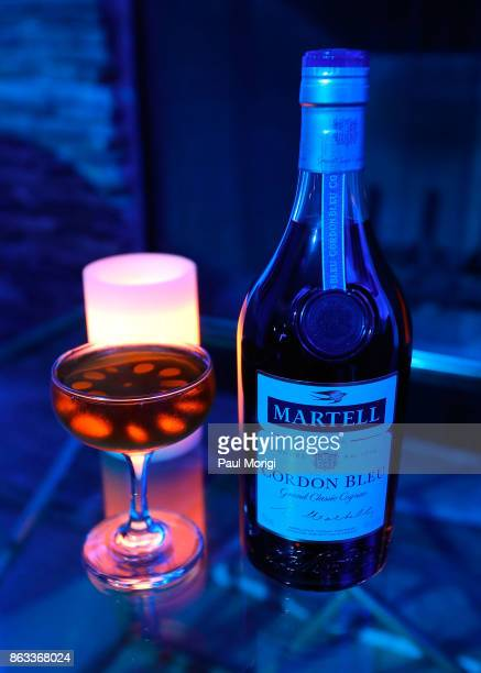 The Lotus Bomb cocktail made with Martell Cordon Bleu at the HOME by Martell event on October 19 2017 in Washington DC
