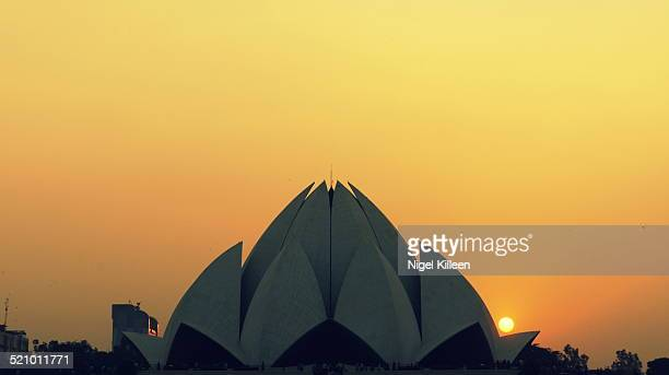 The Lotus Temple located in New Delhi India is a Baha'i House of Worship completed in 1986 Notable for its flowerlike shape it serves as the Mother...
