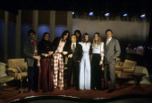 SHOW The Loud Family of the PBS Documentary TV Series 'An American Family' Shoot Date February 6 1973 DICK CAVETT WITH THE LOUD FAMILY LANCE...