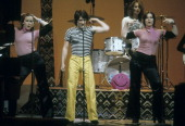 SHOW The Loud Family of the PBS Documentary TV Series 'An American Family' Airdate April 4 1974 THE LOUD FAMILY CHILDREN PERFORMING DELILAH