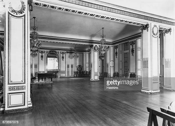 The Louis XVIstyle Ballroom at the Hyde Park Hotel in Knightsbridge London 22nd April 1925