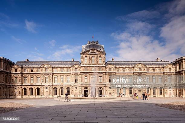 The Louvre Museum in Paris, France.