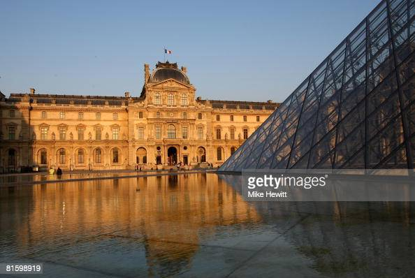 The Louvre Museum on June 9 2008 in Paris France