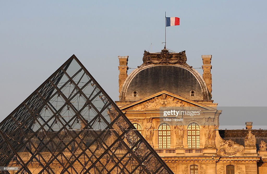 The Louvre Museum on June 9, 2008 in Paris, France.