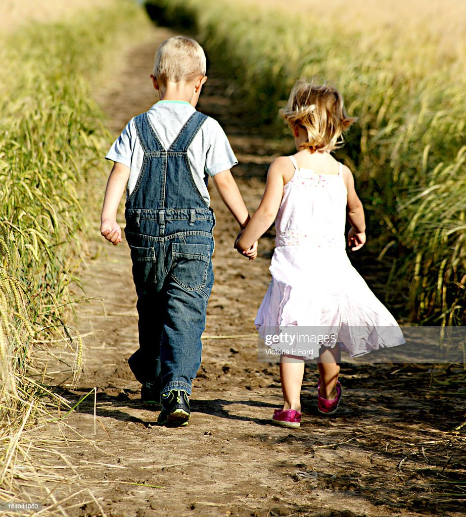 Picture For Brother Sister: The Love Of A Brother And Sister Stock Photo
