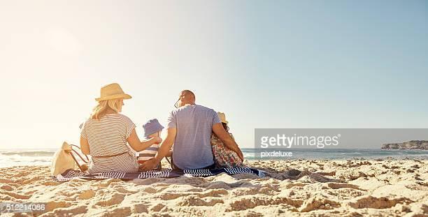 L'amour de la famille est la vie est plus de bonheur