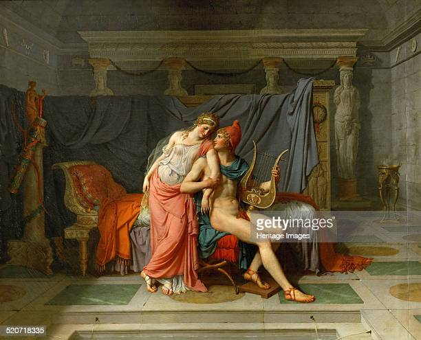 The Loves of Helen and Paris Found in the collection of Louvre Paris