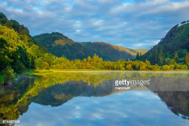 The Lower Lake in Glendalough, County Wicklow, Ireland