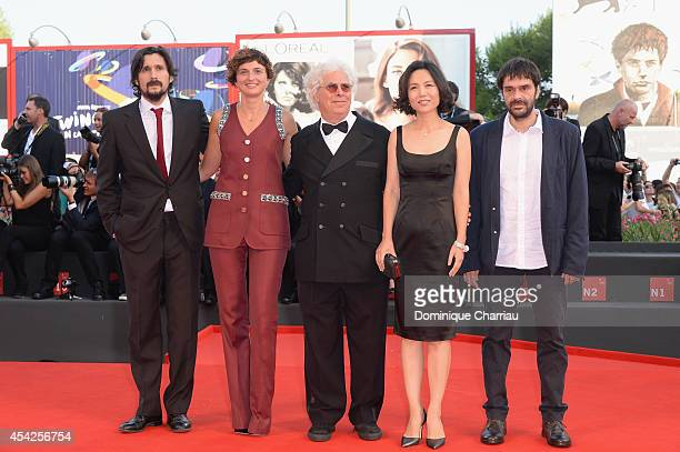 "The Luigi de Laurentis"" Venice Award for a Debut Film Jury Jury Members Lisandro AlonsoAlice Rohrwacher Ron Mann Vivian Qu Razvan Radulescu attends..."