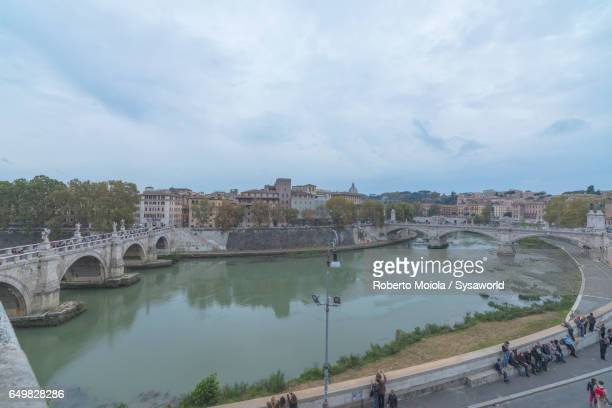 The Lungo Tevere Rome Italy