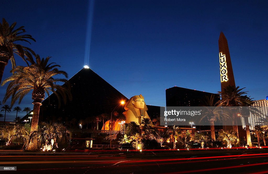 The Luxor Hotel and Casino is seen on May 30, 2002 in Las Vegas, Nevada.