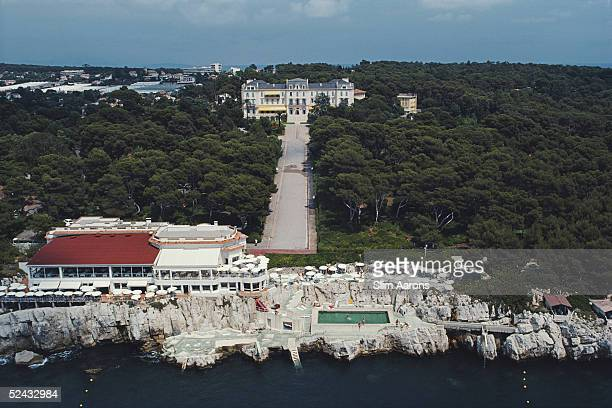 The luxurious Hotel du Cap Eden Roc at Cap d'Antibes on the French Riviera August 1976