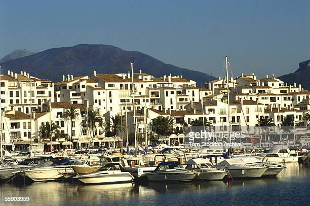 The luxury holiday marina of Puerto Banus Marbella Spain
