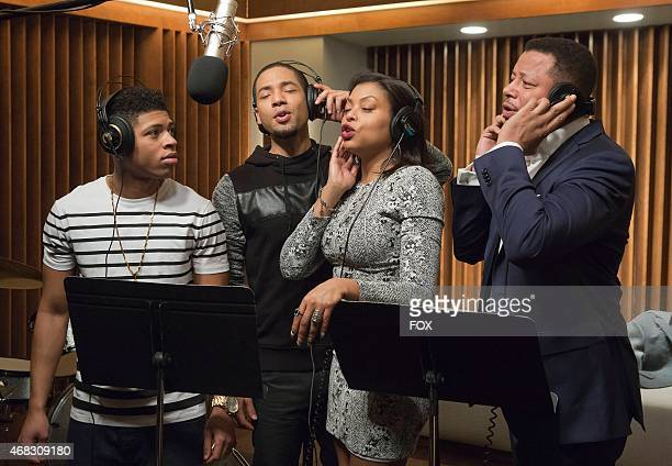The Lyon family comes together to record a legacy album in the 'The Lyon's Roar' episode of EMPIRE airing Wednesday Feb 25 on FOX Pictured LR...