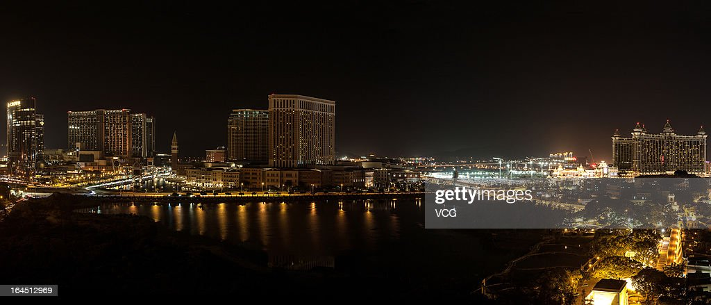 The Macau skyline is dark after the lights were switched off to recognize Earth Hour on March 23, 2013 in Macau, Macau. Businesses and households around the world will turn their lights off for an hour at 20:30 local time today, to celebrate Earth Hour, raise awareness about climate change and to show support for the use of renewable energy. Earth hour began in Australia in 2007 and is now celebrated in over 150 countries around the world.