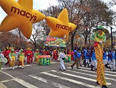 The Macy's Thanksgiving Parade in New York City