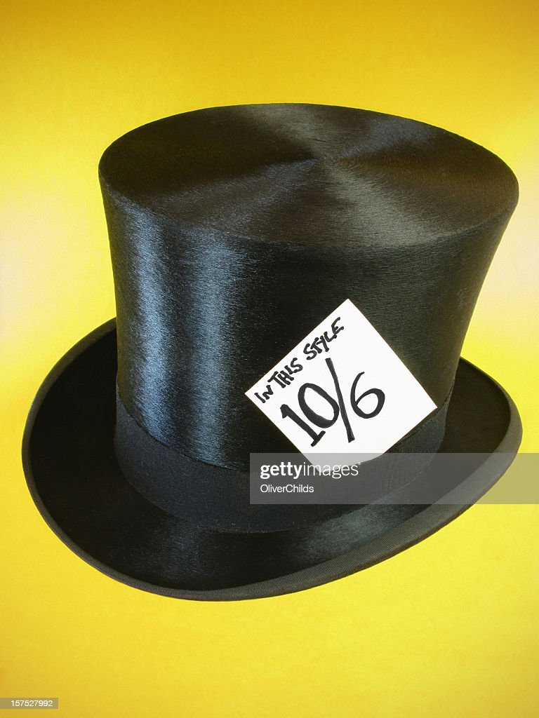 the mad hatters hat stock photo getty images