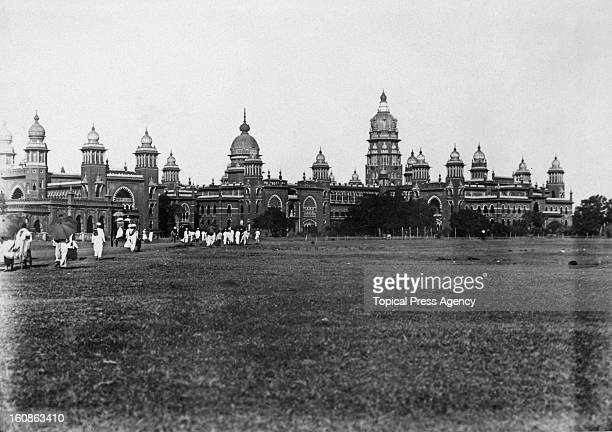 The Madras High Court in Chennai November 1927 The complex was built in 1892 in the IndoSaracenic style