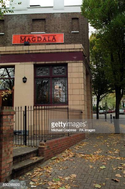 The Magdala Tavern Hampstead North London where Ruth Ellis shot her lover David Blakely at point blank range on Easter Sunday 1955 Ruth Ellis pleaded...