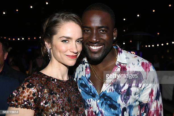 DIEGO 'The Magicians Party at Hotel Solamar' Pictured Melanie Scrofano Shamier Anderson