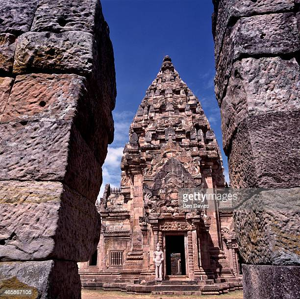 The magnificent Khmer temple complex of Prasat Hin Khao Phanom Rung in Buriram Province Northeast Thailand This temple was built starting in the 10th...